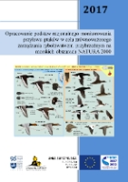 Psuty, Iwona - Opracowanie podstaw racjonalnego monitorowania przyłowu ptaków