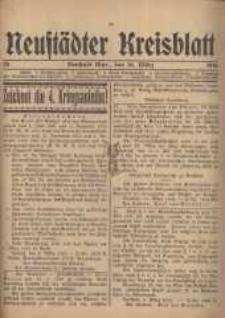 Neustadter Kreis - Blatt, nr.25, 1916