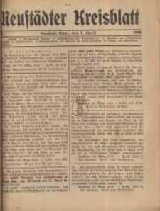 Neustadter Kreis - Blatt, nr.28, 1916