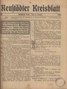 Neustadter Kreis - Blatt, nr.30, 1916