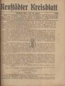 Neustadter Kreis - Blatt, nr.35, 1916