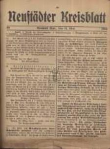 Neustadter Kreis - Blatt, nr.39, 1916