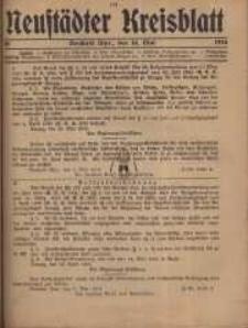 Neustadter Kreis - Blatt, nr.40, 1916