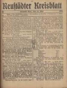 Neustadter Kreis - Blatt, nr.42, 1916