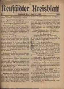 Neustadter Kreis - Blatt, nr.43, 1916