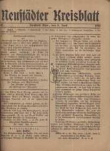 Neustadter Kreis - Blatt, nr.45, 1916