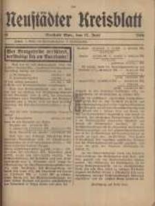 Neustadter Kreis - Blatt, nr.50, 1916