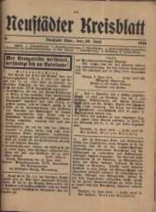 Neustadter Kreis - Blatt, nr.51, 1916