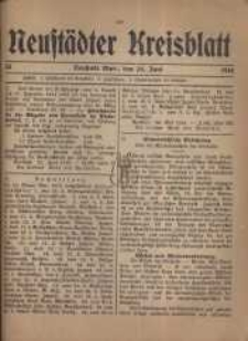 Neustadter Kreis - Blatt, nr.53, 1916