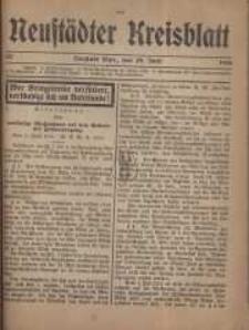 Neustadter Kreis - Blatt, nr.55, 1916