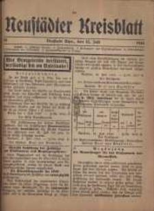 Neustadter Kreis - Blatt, nr.58, 1916