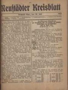 Neustadter Kreis - Blatt, nr.60, 1916