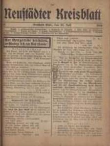 Neustadter Kreis - Blatt, nr.61, 1916