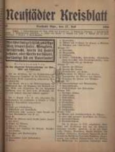 Neustadter Kreis - Blatt, nr.62, 1916