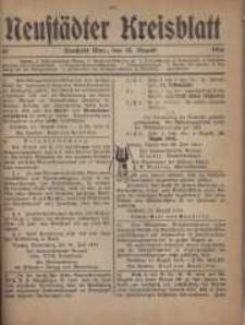 Neustadter Kreis - Blatt, nr.67, 1916