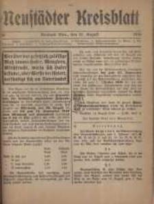 Neustadter Kreis - Blatt, nr.68, 1916