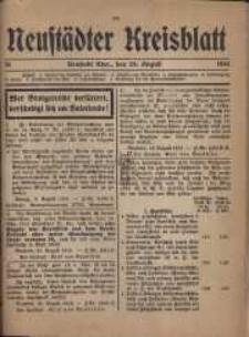 Neustadter Kreis - Blatt, nr.70, 1916