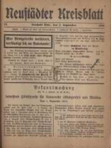Neustadter Kreis - Blatt, nr.74, 1916