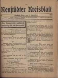 Neustadter Kreis - Blatt, nr.76, 1916