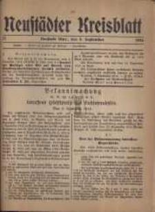 Neustadter Kreis - Blatt, nr.77, 1916