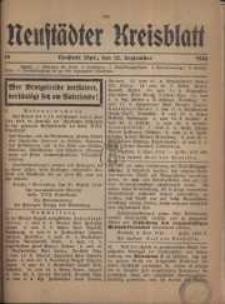 Neustadter Kreis - Blatt, nr.78, 1916
