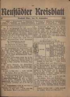 Neustadter Kreis - Blatt, nr.80, 1916