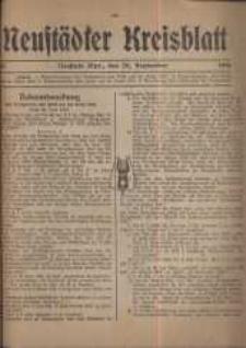 Neustadter Kreis - Blatt, nr.81, 1916