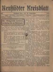 Neustadter Kreis - Blatt, nr.83, 1916