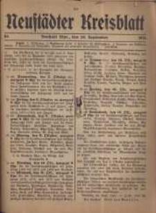 Neustadter Kreis - Blatt, nr.84, 1916