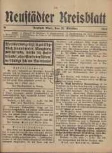 Neustadter Kreis - Blatt, nr.91, 1916