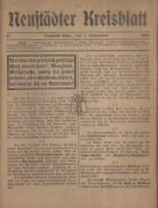 Neustadter Kreis - Blatt, nr.97, 1916