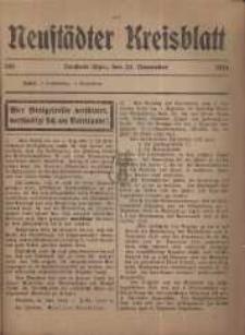 Neustadter Kreis - Blatt, nr.104, 1916