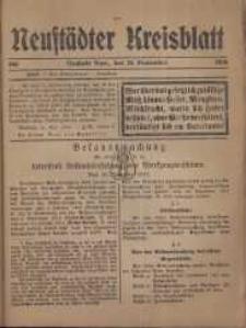 Neustadter Kreis - Blatt, nr.105, 1916