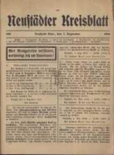 Neustadter Kreis - Blatt, nr.108, 1916