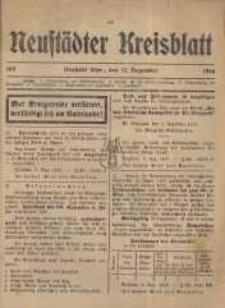 Neustadter Kreis - Blatt, nr.109, 1916