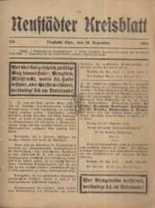 Neustadter Kreis - Blatt, nr.115, 1916