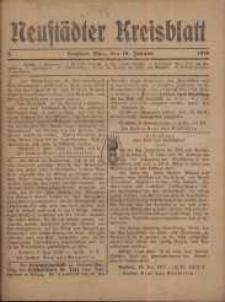Neustadter Kreis - Blatt, nr.3, 1918