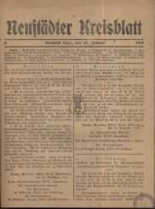 Neustadter Kreis - Blatt, nr.8, 1918