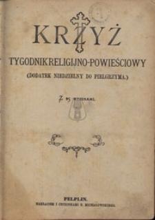 Krzyż. Dodatek niedzielny do Pielgrzyma, nr. 38