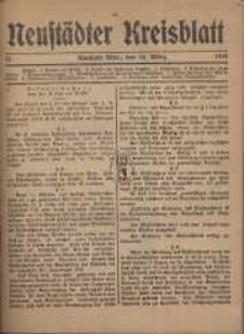 Neustadter Kreis - Blatt, nr.21, 1918