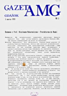GazetAMG, 1991, R. 1, nr 3