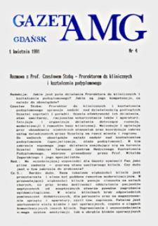GazetAMG, 1991, R. 1, nr 4