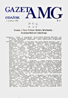 GazetAMG, 1991, R. 1, nr 6
