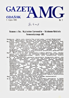 GazetAMG, 1991, R. 1, nr 7