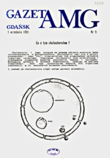 GazetAMG, 1991, R. 1, nr 9