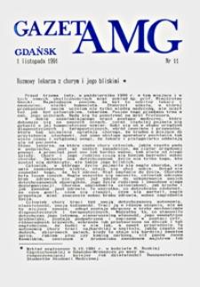 GazetAMG, 1991, R. 1, nr 11