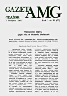 GazetAMG, 1992, R. 2, nr 11