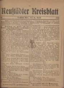 Neustadter Kreis - Blatt, nr.31, 1918