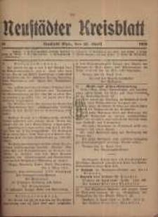 Neustadter Kreis - Blatt, nr.33, 1918