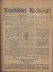 Neustadter Kreis - Blatt, nr.36, 1918